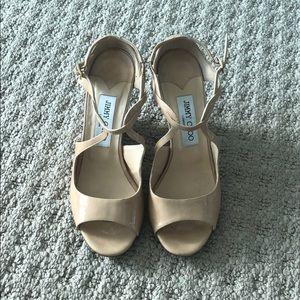 Jimmy choo shoes. Size 37. Beige